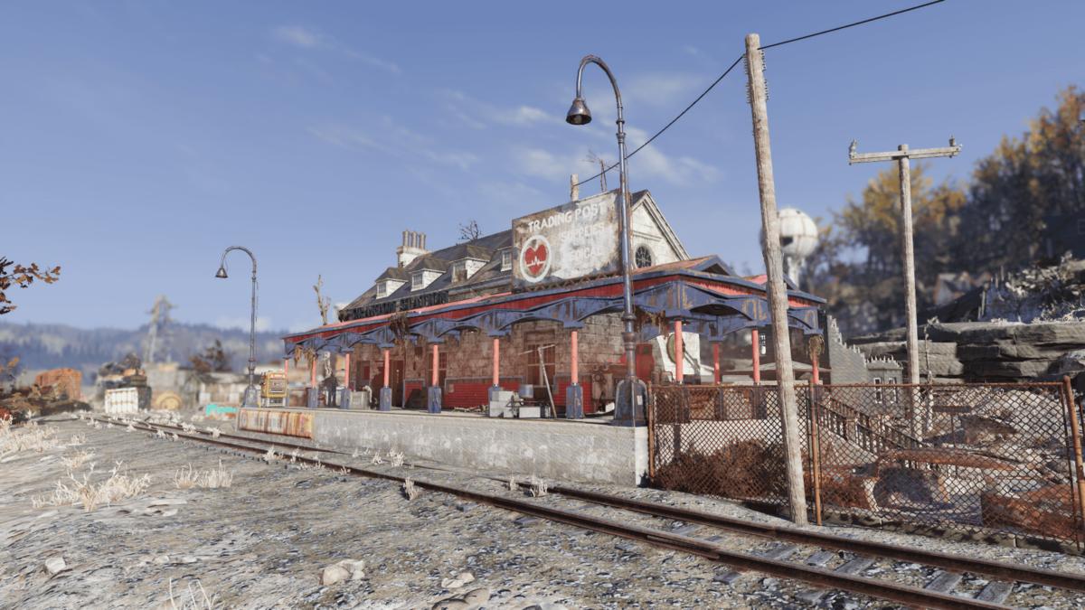 Grafton Station Fallout 76 Vendors