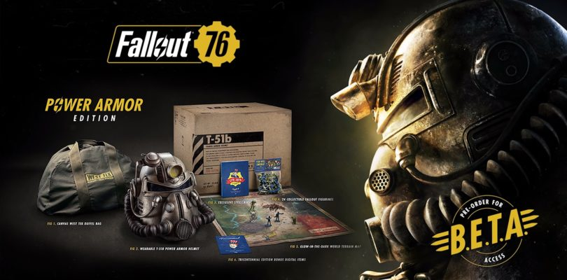 Pre-Order Fallout 76 Power Armor Edition