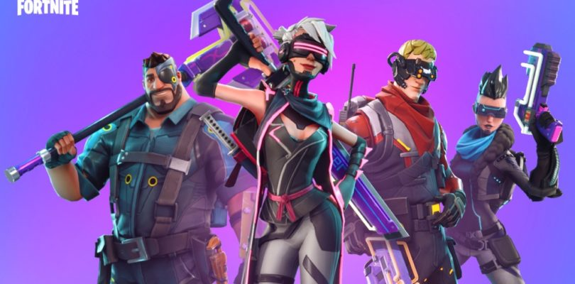 Fortnite Cross-Play PS4 Xbox Switch