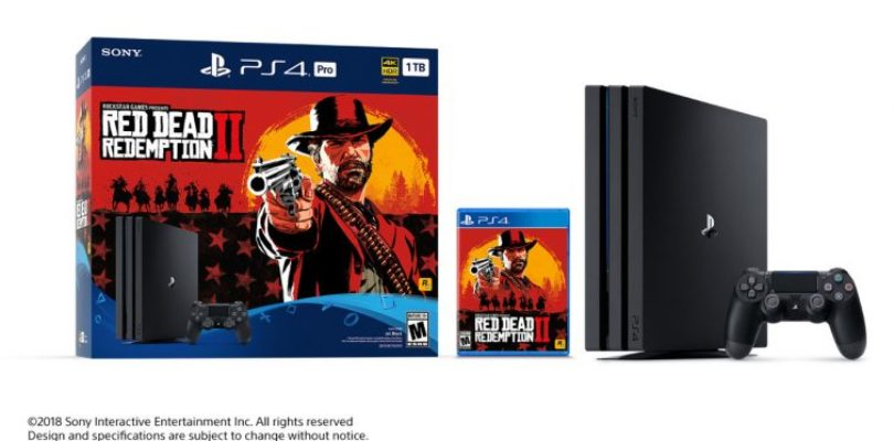 Red Dead Redemption 2 PS4 Pro Bundle