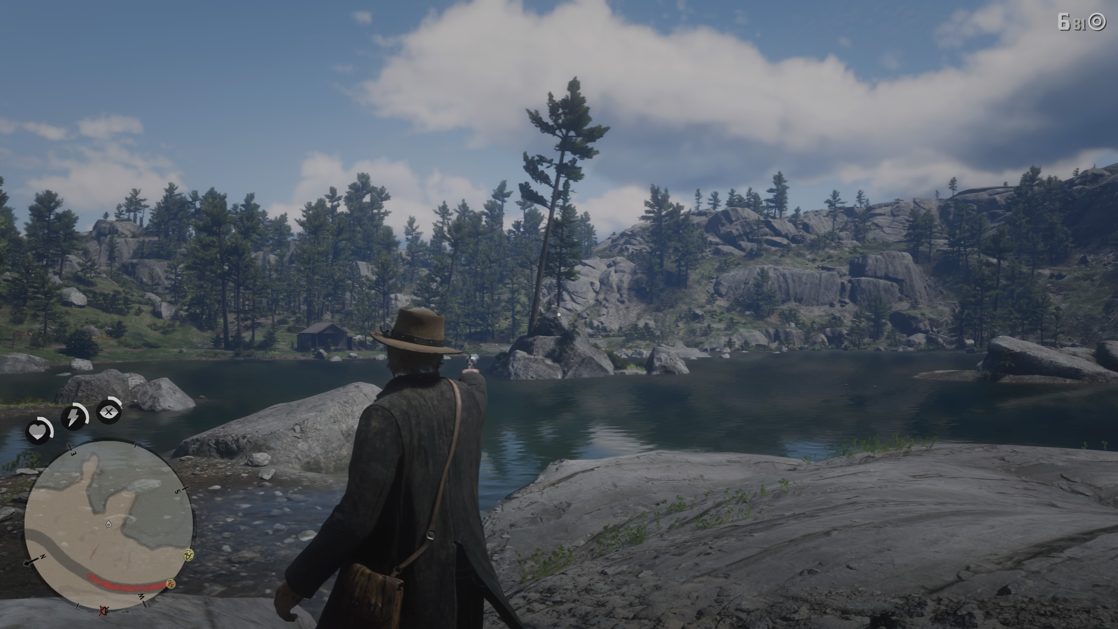 Red Dead Redemption 2 Jack Hall Gang Treasure Island Location
