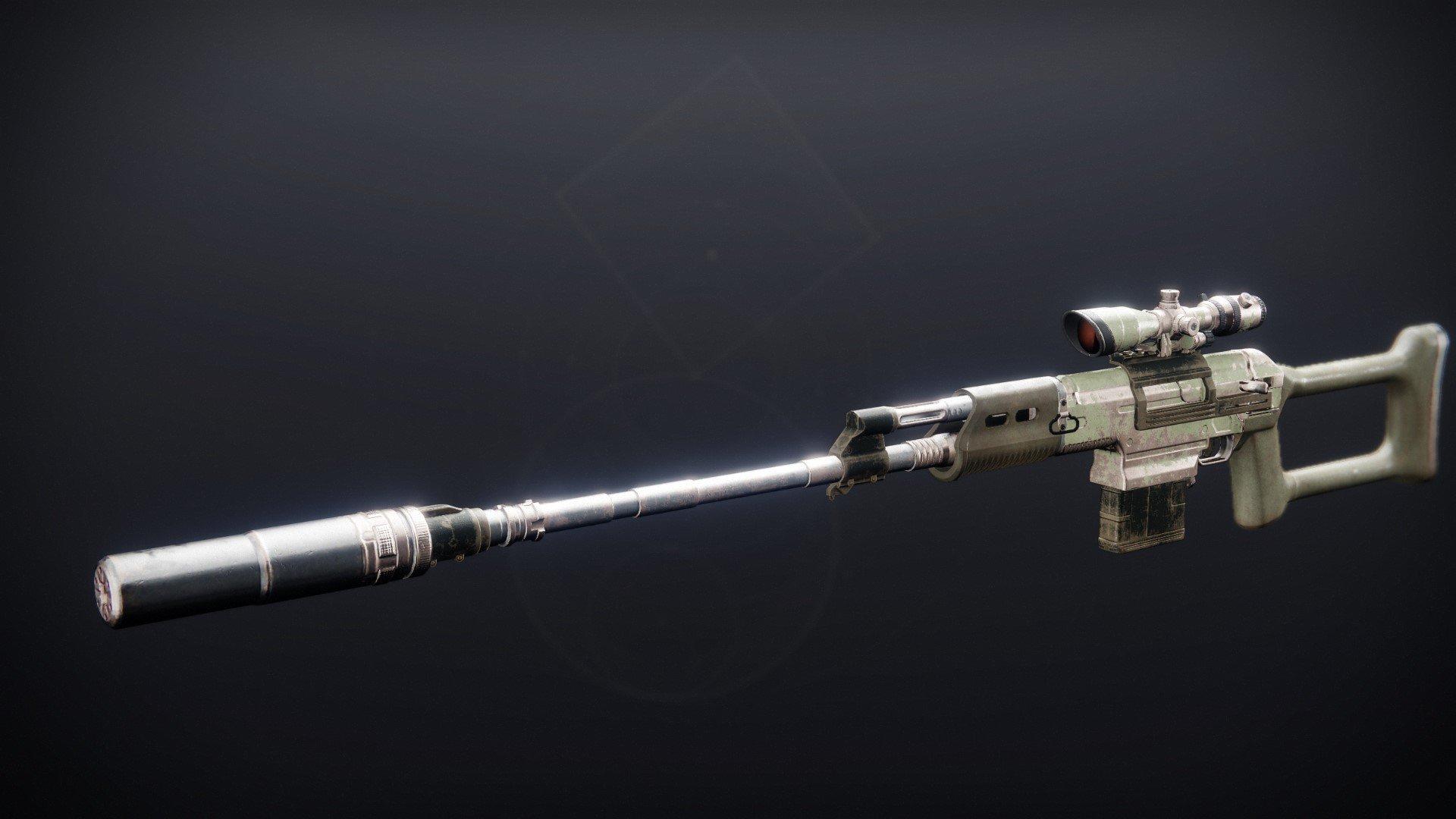 Shepherd's Watch - Sniper Rifle Destiny 2 Season Of The Lost Weapons
