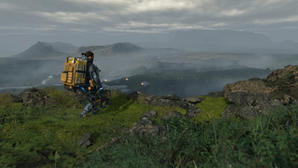 Death Stranding Walking Simulator
