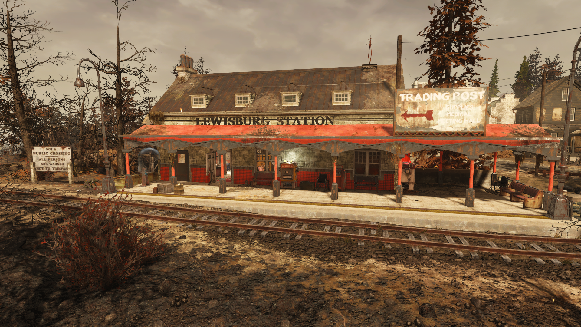 Lewisburg Station Fallout 76 Vendors
