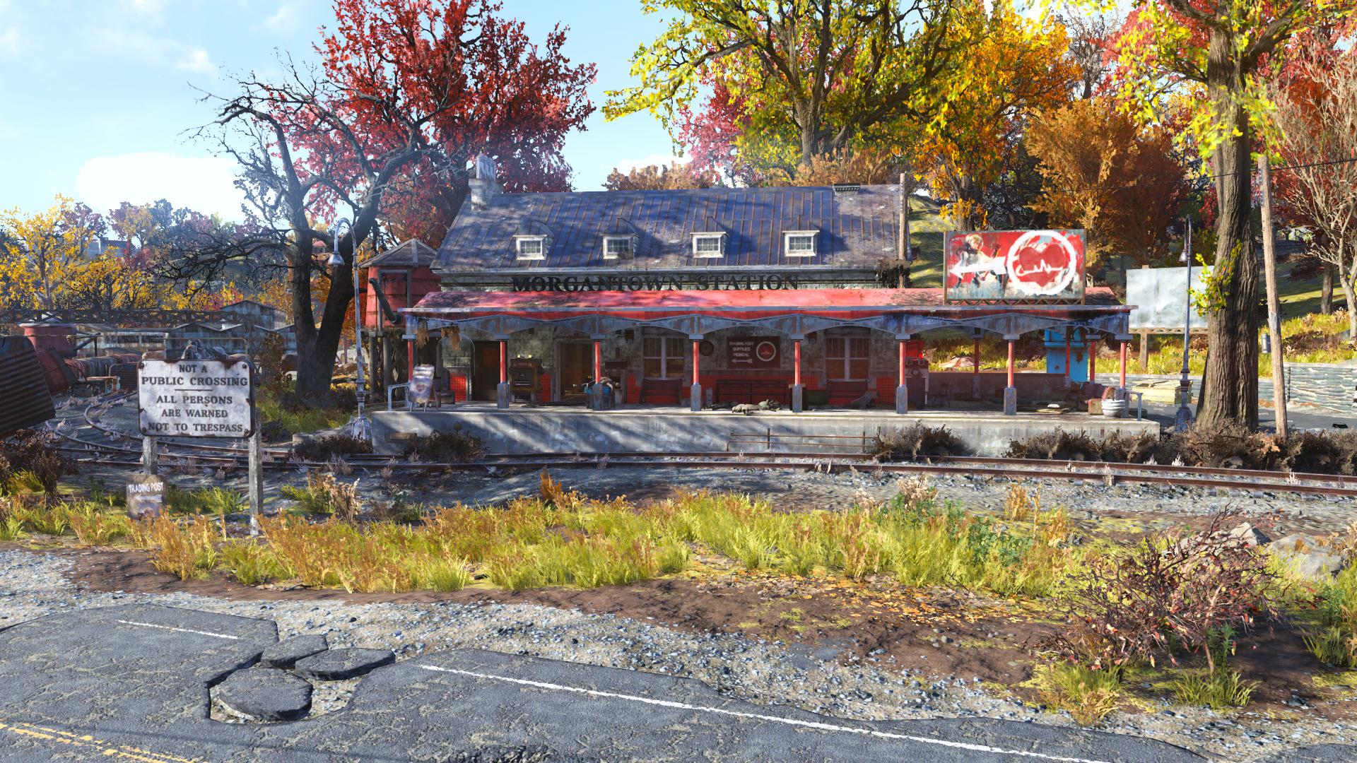 Morgantown Station Fallout 76 Vendors
