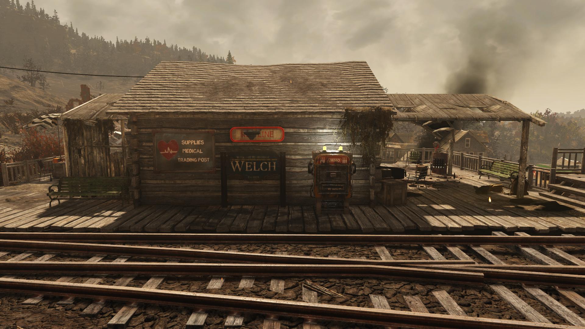 Welch Station