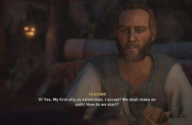 Assassin's Creed Valhalla Tewdwr