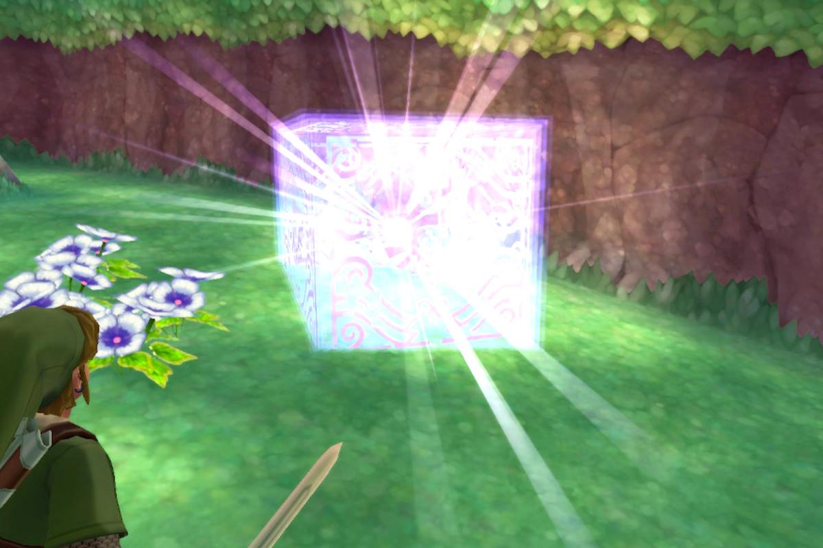 Zelda Skyward Sword HD Goddess Cubes