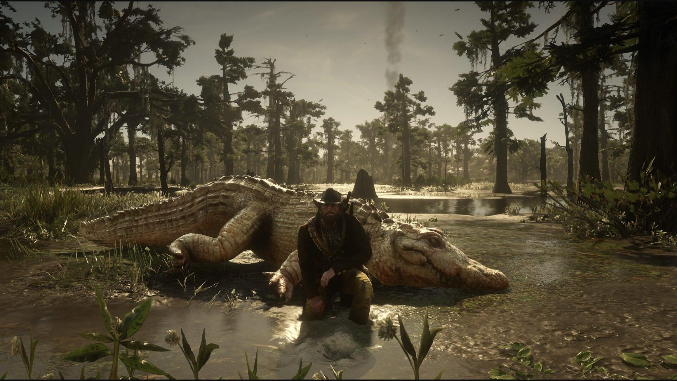 Red Dead Redemption 2 Legendary Alligator