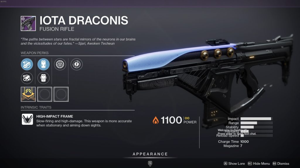 Iota Draconis - Fusion Rifle