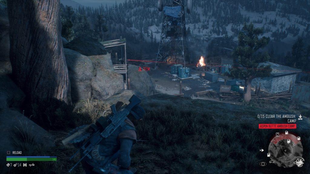 How to Get Inside Aspen Butte Ambush Camp in Days Gone