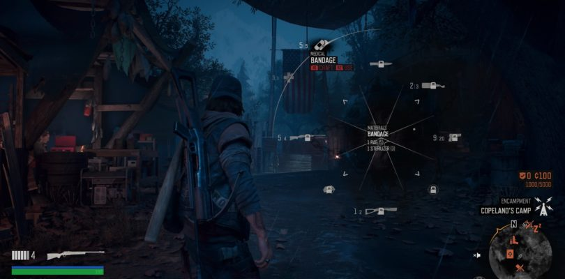 Days Gone: Bandages Crafting Guide