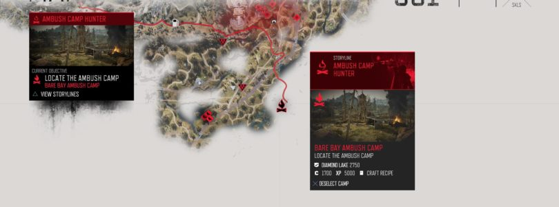 Days Gone Bare Bay Ambush Camp Location
