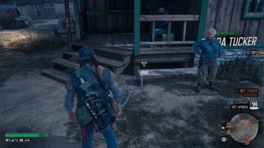 Days Gone Belknap Character Collectible Location 1