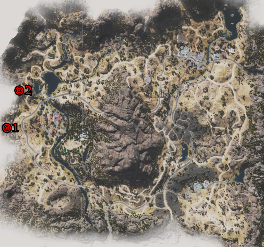 Days Gone Belknap Nero Research Sites Locations Map