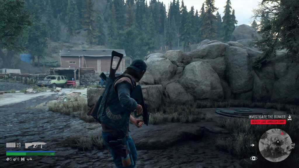 Days Gone Berley Lake Bunker Location