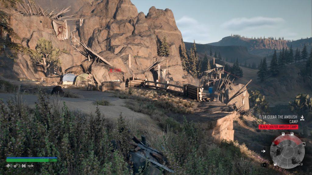 Getting Inside Black Crater Ambush Camp