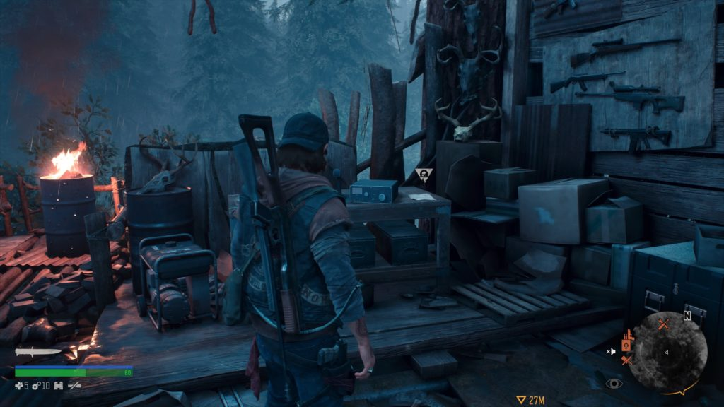 Days Gone Cascade Character Collectible Location 2