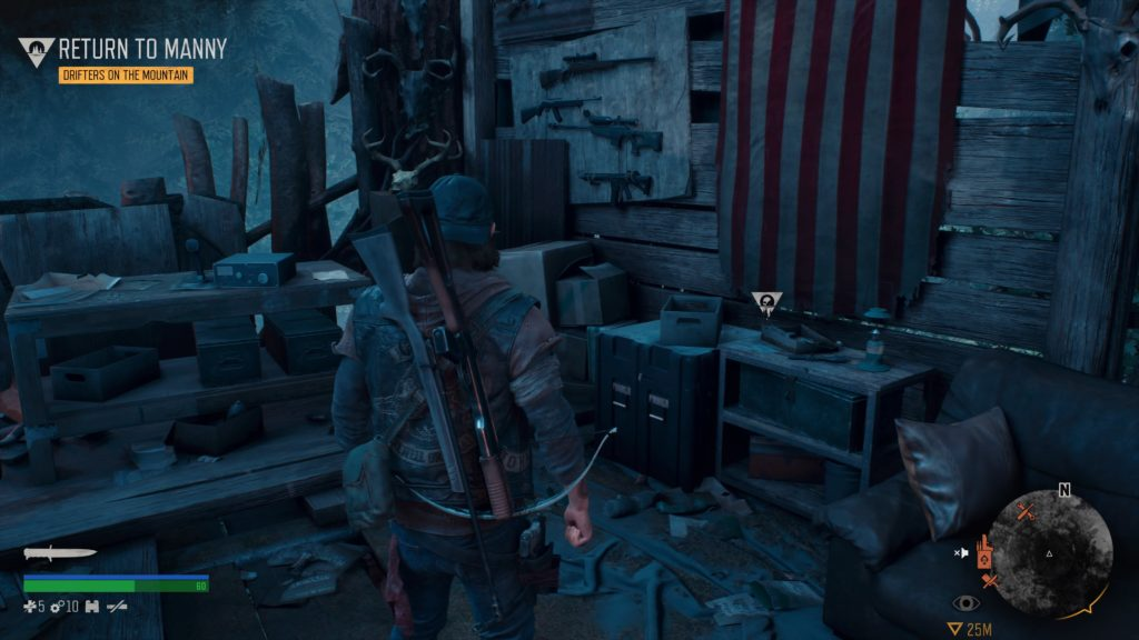 Days Gone Cascade Character Collectible Location 3