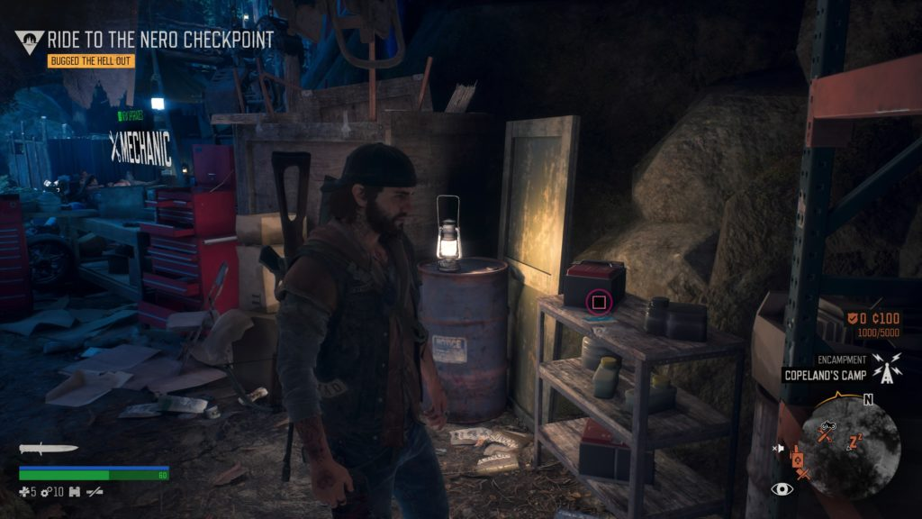 Days Gone Cascade Character Collectible Location 4