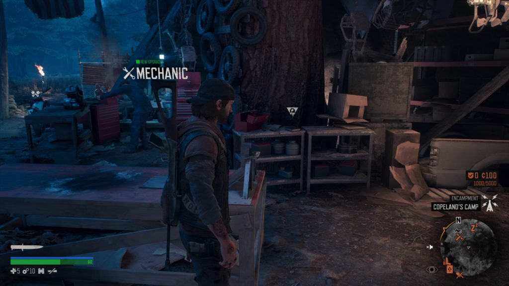 Days Gone Cascade Character Collectible Location 5