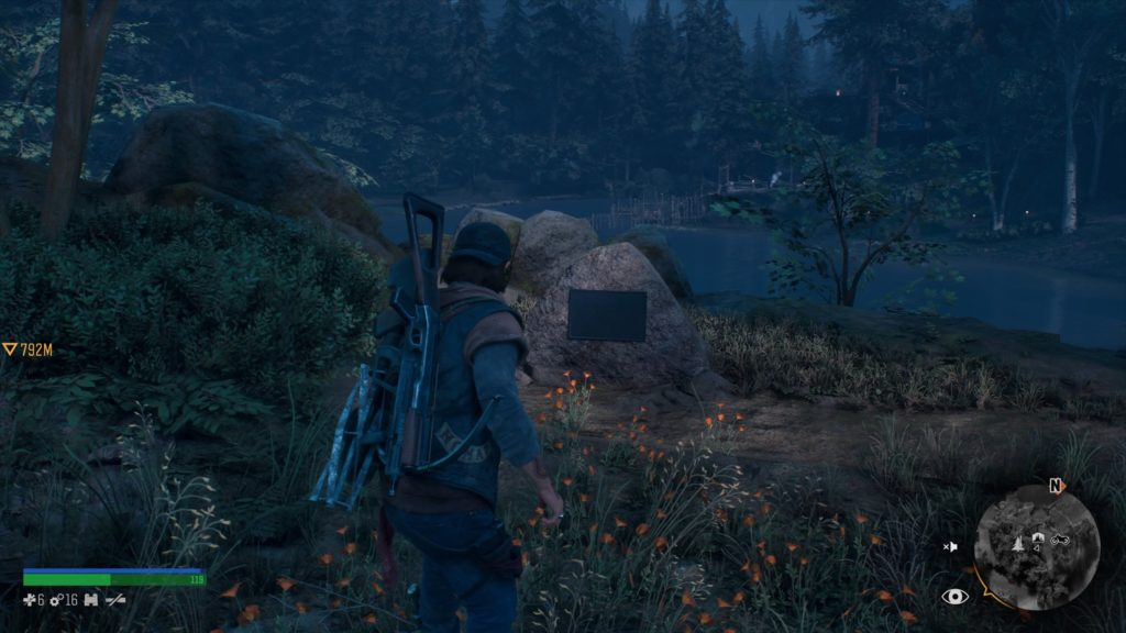 Days Gone Cascade Historical Marker Collectible Location 7
