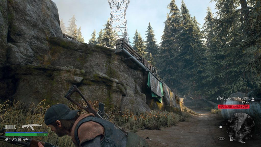 How to Infiltrate Horse Creek Ambush Camp in Days Gone