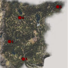 Days Gone Cascade IPCA Tech Locations Map