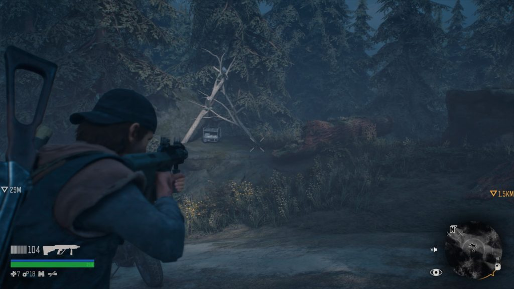 Days Gone Cascade R.I.P. Sermon Collectible Location 1