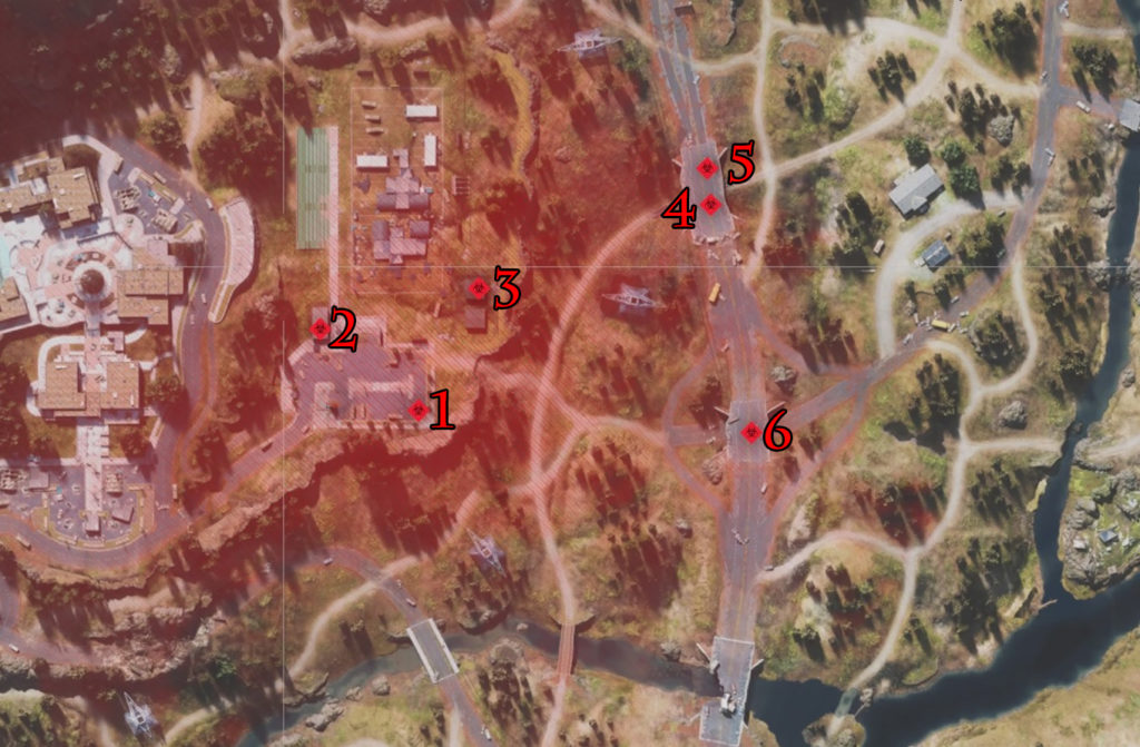 Days Gone Chemult College Infestation Nests Locations Map