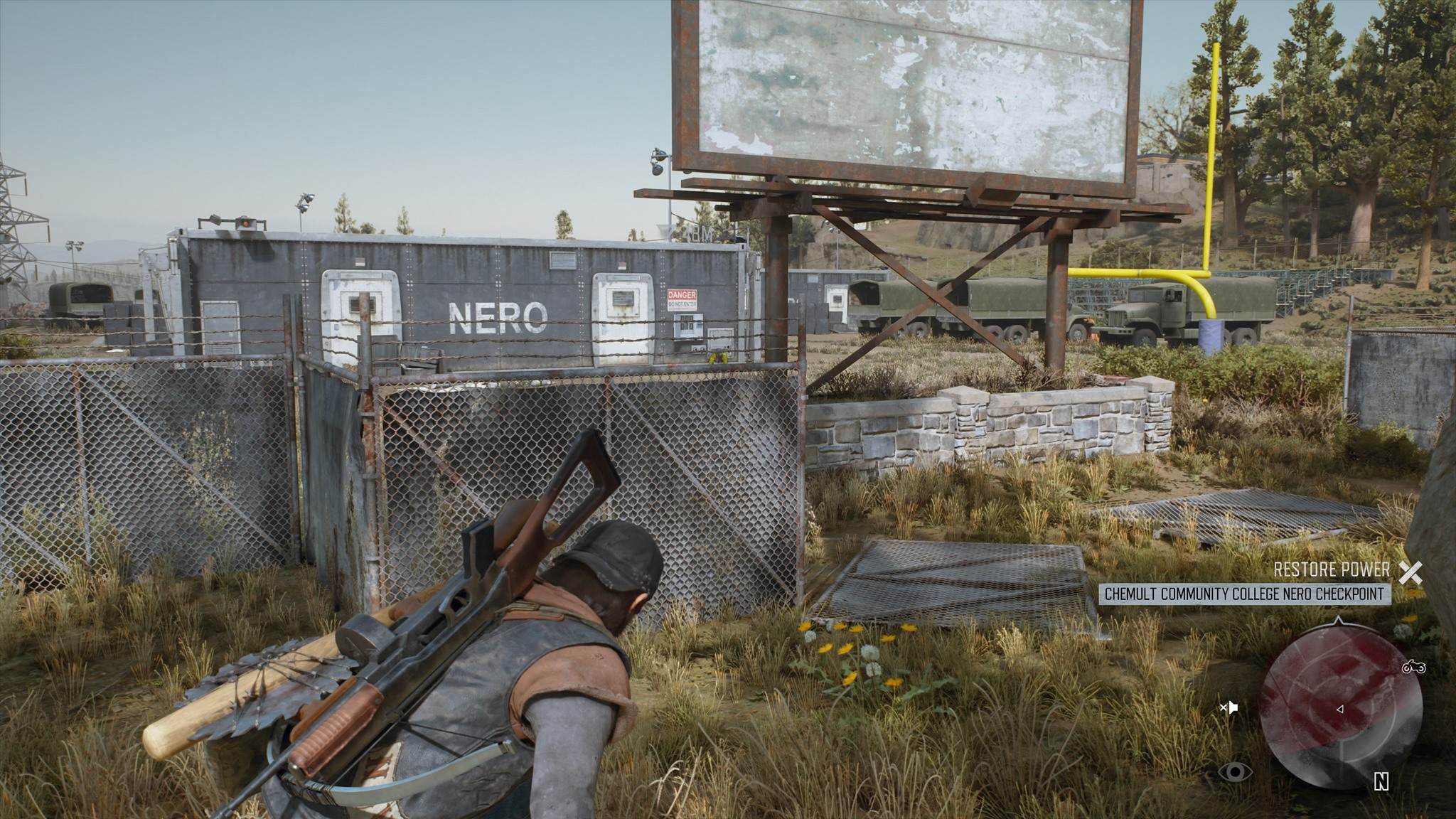 Chemult Community College Nero Checkpoint | Days Gone ... on