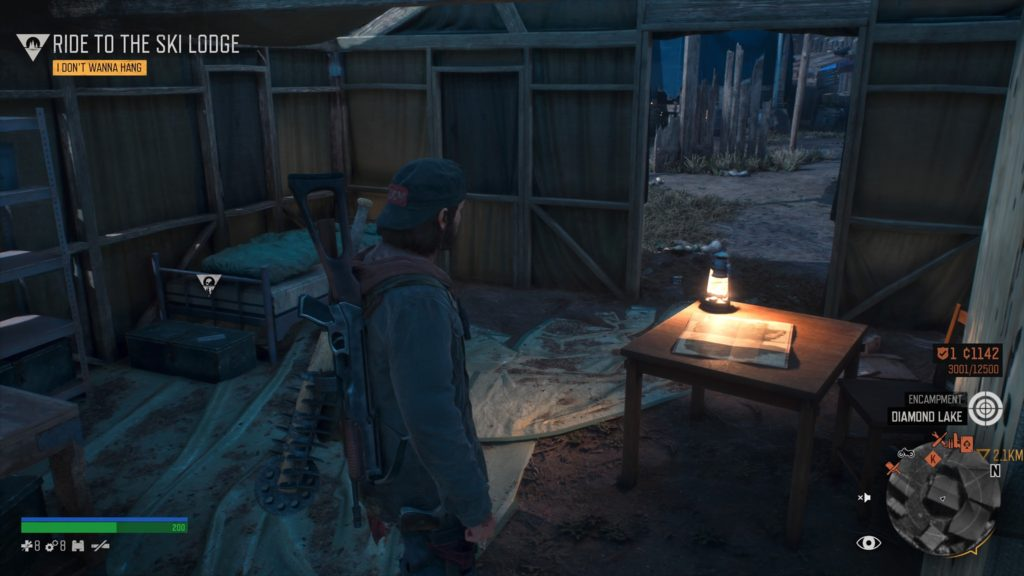 Days Gone Crater Lake Character Collectible Location 2