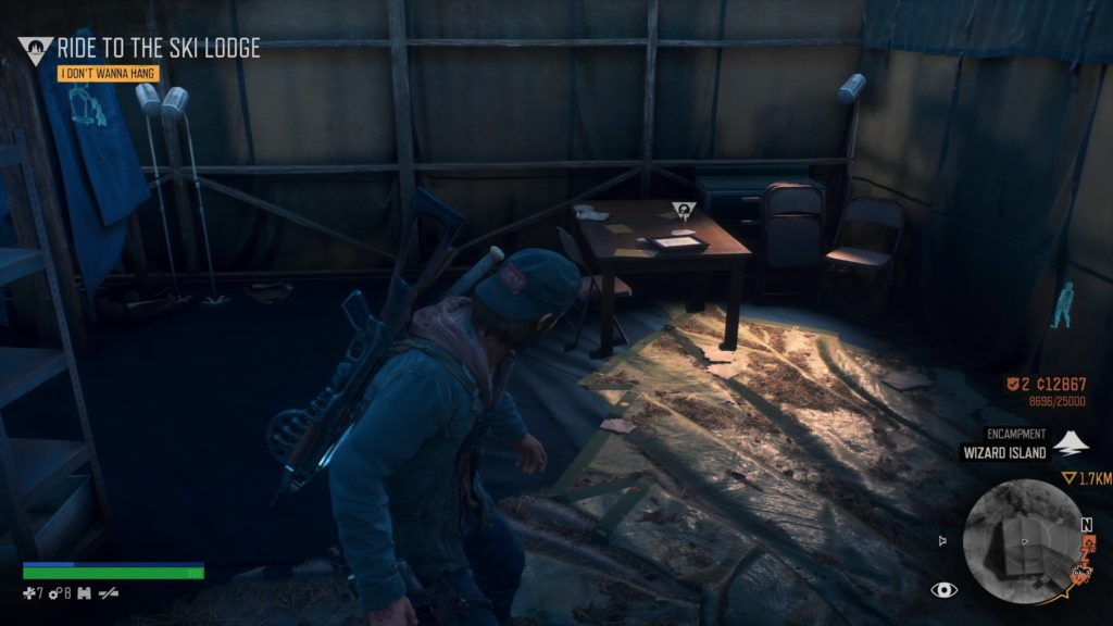 Days Gone Crater Lake Character Collectible Location 5