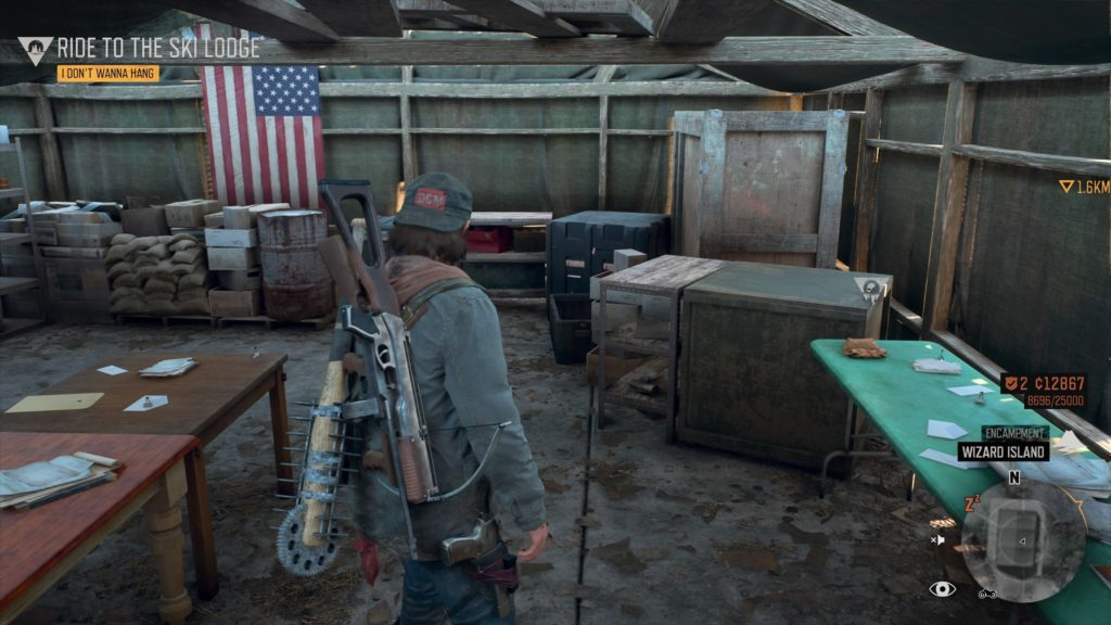 Days Gone Crater Lake Character Collectible Location 7