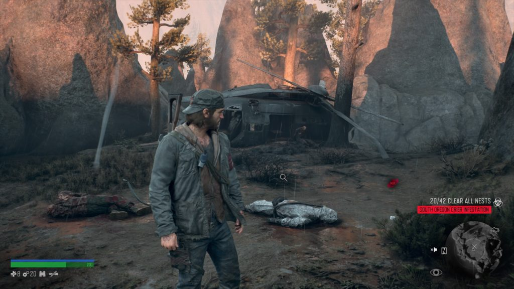 Days Gone Crater Lake IPCA Tech Location 1