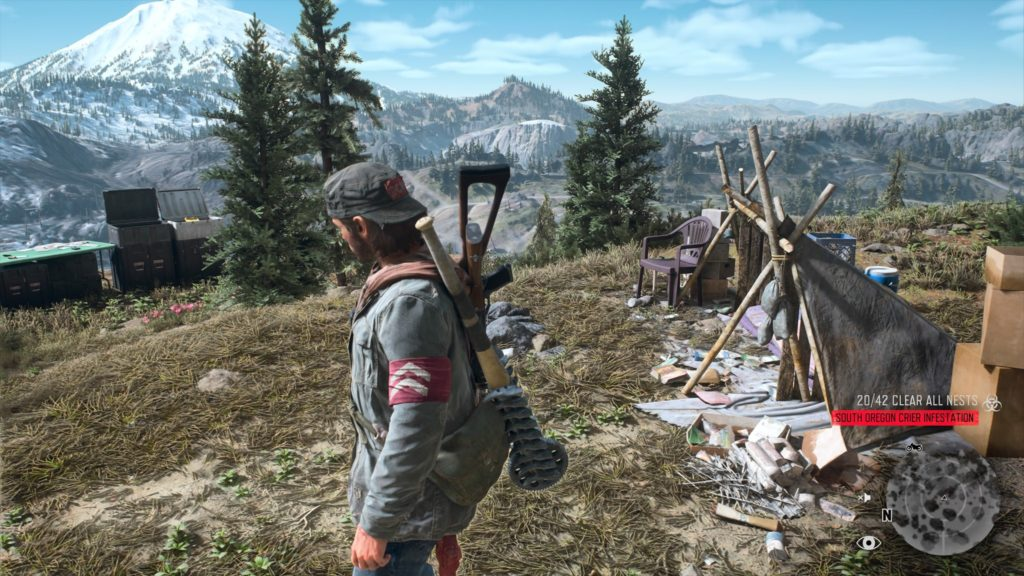 Days Gone Crater Lake Nero Intel Collectible Location 2