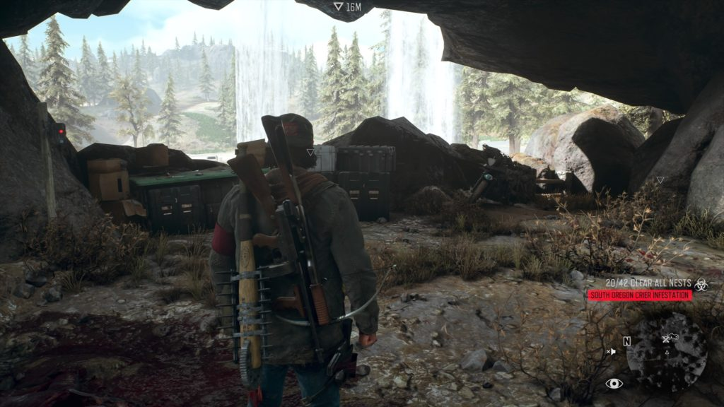 Days Gone Crater Lake Nero Intel Collectible Location 3