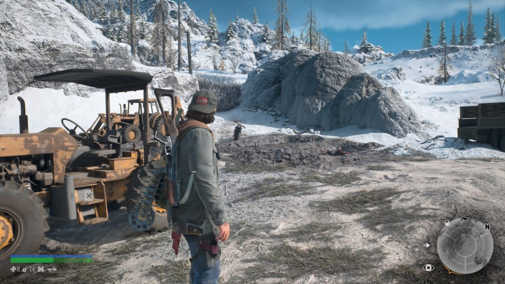 Days Gone Crater Lake Nero Intel Collectible Location 9