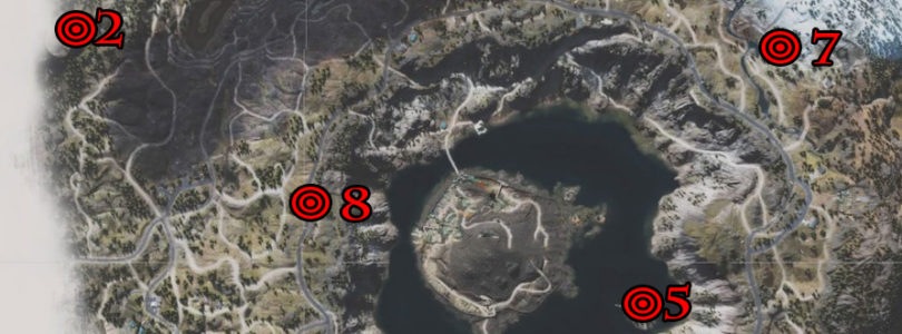 Days Gone: Crater Lake Nero Intel Collectibles Locations