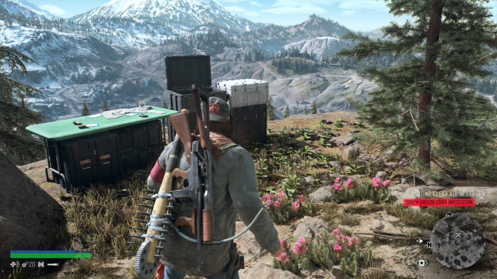 Days Gone Crater Lake Nero Research Site 2 Location