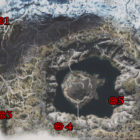 Days Gone Crater Lake Nero Research Sites Locations Map