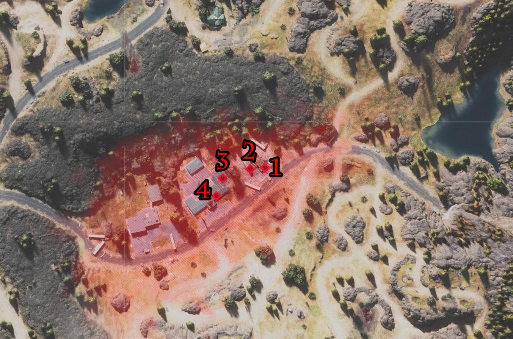Days Gone Crazy Willie's Infestation Locations