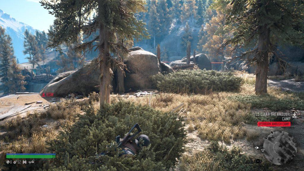 How to Get Inside Deerborn Ambush Camp in Days Gone
