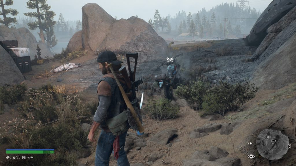 Days Gone Highway 97 Nero Intel Collectible Location 2