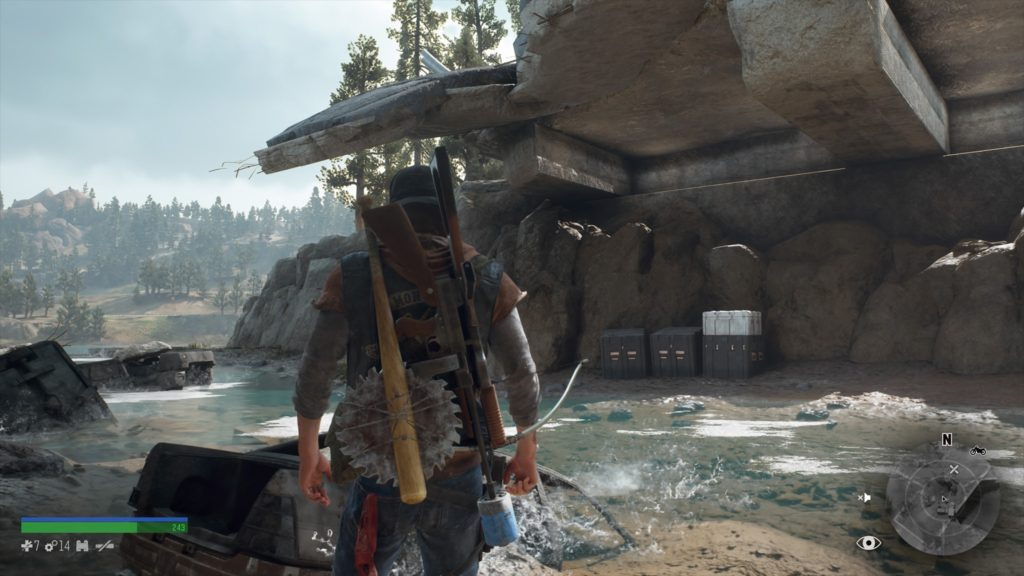 Days Gone Highway 97 Nero Research Site 4 Location