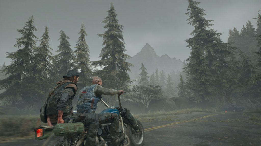 Days Gone I Say We Head North Ride With Boozer