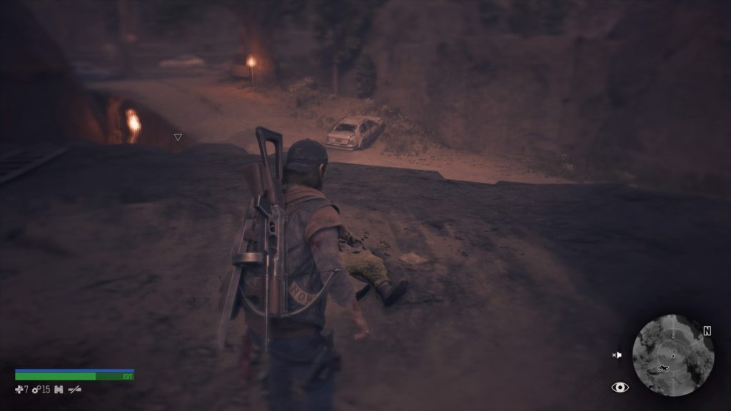 Days Gone Iron Butte Nero Intel Collectible Location 1