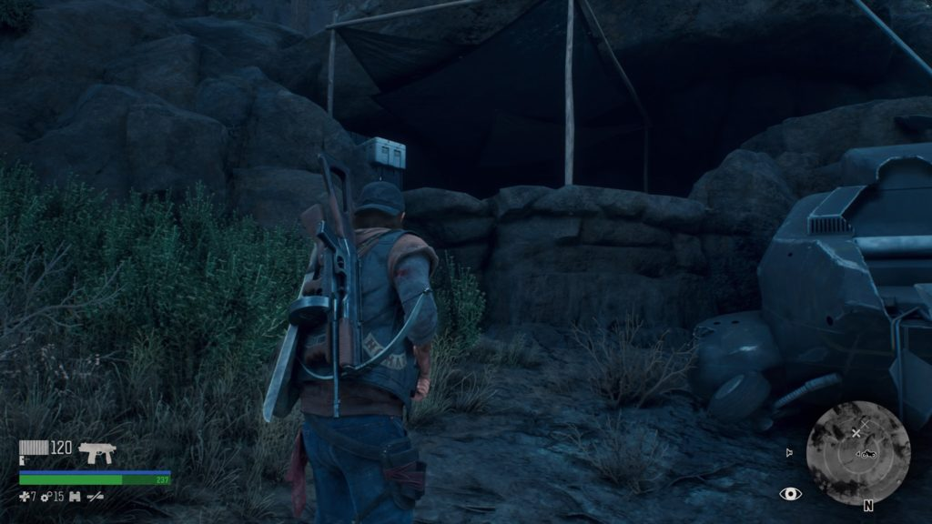 Days Gone Iron Butte Nero Research Site Location