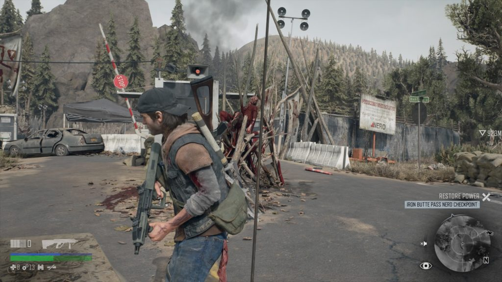 Days Gone Iron Butte Pass MMU Speaker Location 1