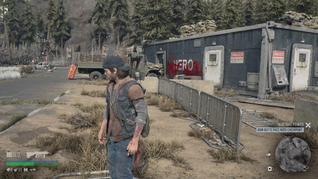 Days Gone Iron Butte Pass MMU Speaker Location 2